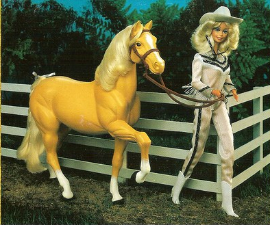 western barbie and dallas